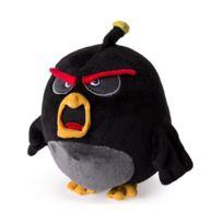 Spin Master - Peluche Angry Bird 12.5 cm : Bomb noir