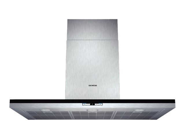 SIEMENS - hotte décorative murale 90cm 1000m3/h - lc91be542