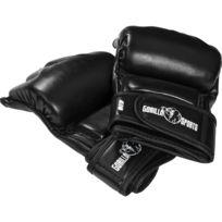 new style 5dc8b 693b8 Gorilla Sports - Gants de boxe - Mitaines arts martiaux Mma noir
