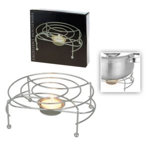 g n rique support dessous de plat avec bougie chauffe plat pas cher achat vente dessous de. Black Bedroom Furniture Sets. Home Design Ideas