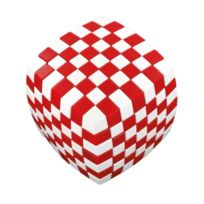 V-cube - tm 7 Illusion - Rouge Blanc