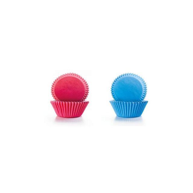 Ibili Capsule Cupcake Rose+ Bleue 50+50 pcs