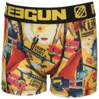 Freegun - Sous vêtement boxer Kitty noir/jne boxer jr Blanc 70981