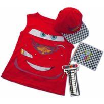 Disney - I-3692 - DÉGUISEMENT - Costume - Sac RÉVERSIBLE Cars Avec Accessoires
