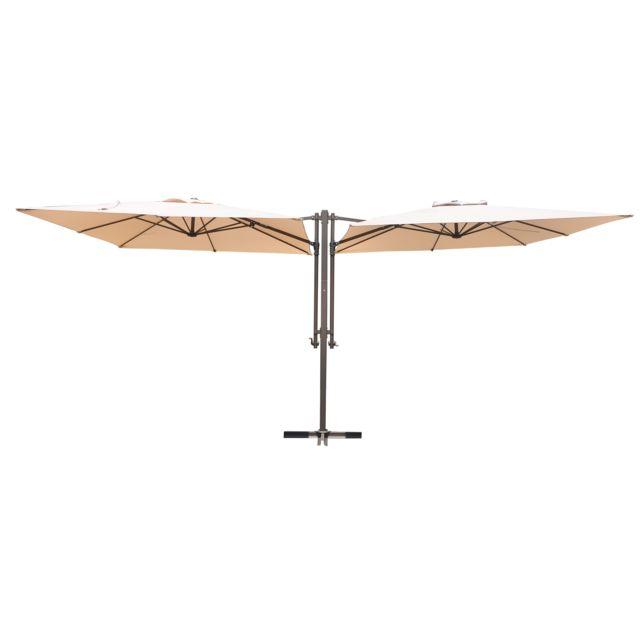 CARREFOUR Parasol double - Beige
