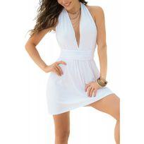Mapale - Robe courte blanche 4934