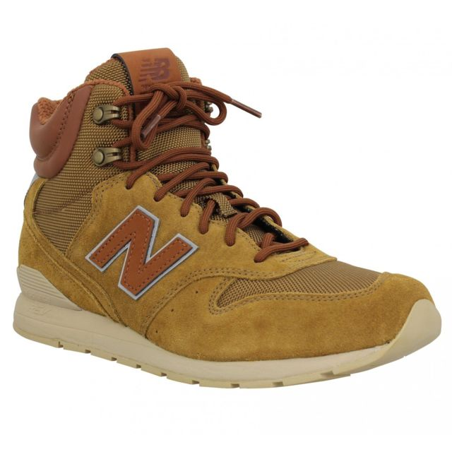 big sale 1a2ed 33d82 New Balance - New Balance 996 Winter velours toile Homme-42-Camel
