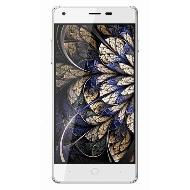 Konrow Cool-K - Smartphone Android 5.1 Lollipop - Ecran 5'' - 8Go - Double Sim - Blanc