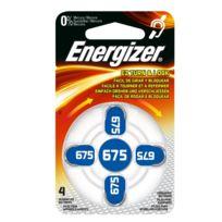 Energizer - Ez Turn & Lock 675 - Distributeur de 4 Piles auditives