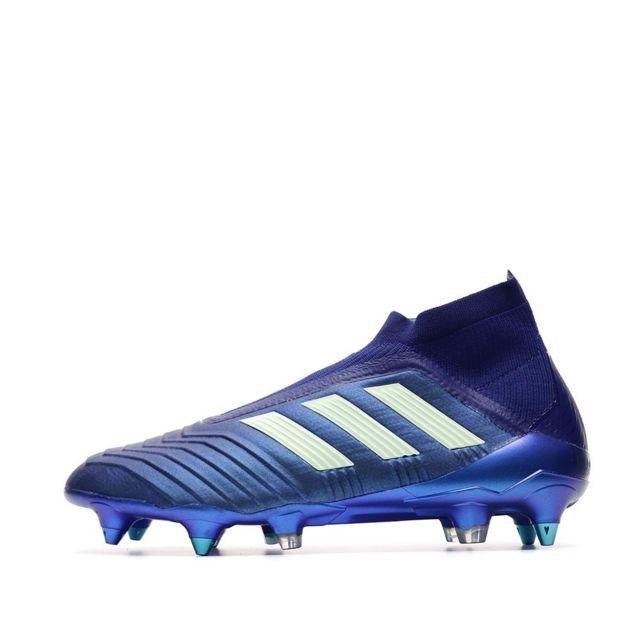Predator 18+ Sg Chaussures de foot bleu homme Multicouleur 40