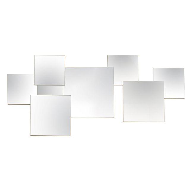 Brio Miroir Grafik 7 Facettes 91 x 46 cm