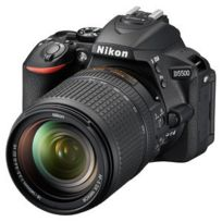 Nikon - Appareil photo D5500 24.2 Mp - Vidéo Full Hd - Écran tactile - Wi-Fi + Objectif Af-s Dx Nikkor 18-140 f/3.5-5.6G Ed Vr