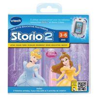 Vtech - Jeu pour console de jeux Storio 2 : Princesses Disney