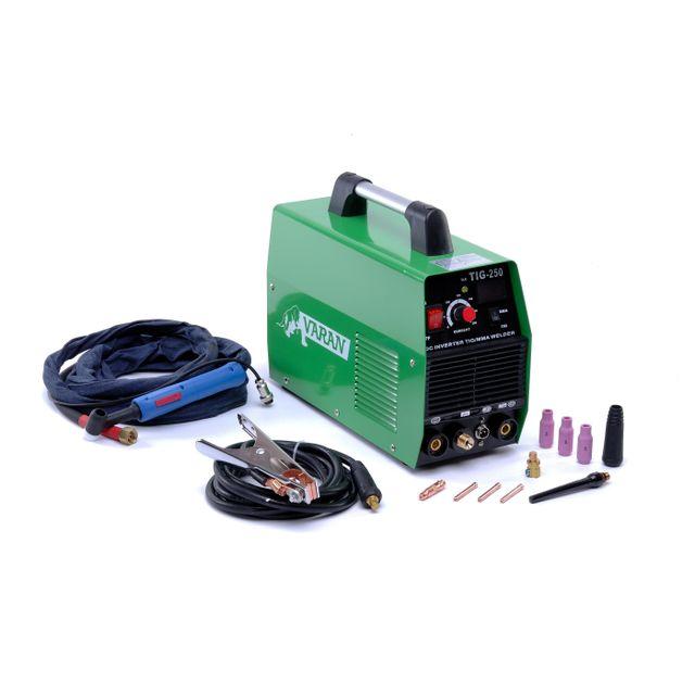f49311ffc9ca69 Varanmotors - Poste à souder Tig 250A, portatif et Inverter + Arc +  Accessoires