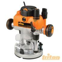 Triton - Défonceuse MOF001 de précision bi-mode 1400 W TS-330085