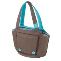 Hoppop - Sac a langer Boosti Bag Choco Bloom