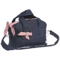 Therese Accessoires - Jeans Karo Sac À Langer Rouge 50 X 38 Cm