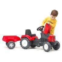 Tracteur Falklander et remorque