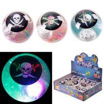 Divers - 1 Balle rebondissante lumineuse pirate