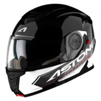 Astone - Casque Rt1200 Touring Noir Blanc