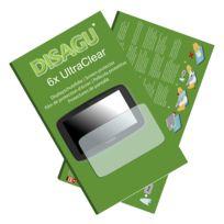 Disagu - TomTom Go 520 Film de protection d'écran - 6x Ultra Clear pour TomTom Go 520