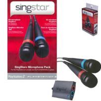 Playstation 3 - Micros Singstar Filaires + Recepteur Pour Ps2/ps3
