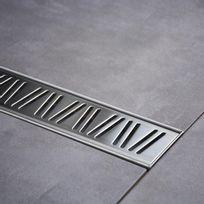 Import&DIFFUSION - Caniveau de douche italienne Inox - 100 cm