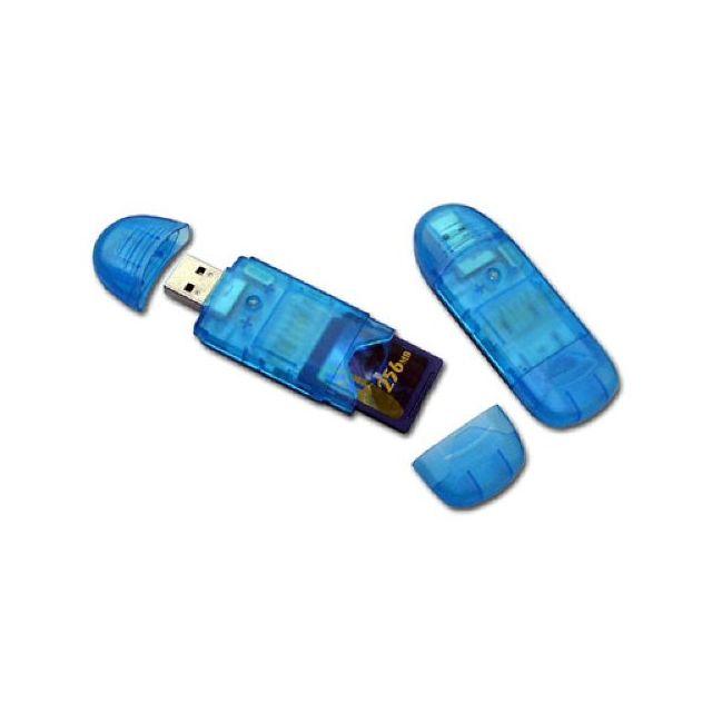 Cabling - Lecteur de Carte Sd MiniSD Mmc T-flash+ Clé Usb 2.0 Carte Sd et adaptateur de carte non fournis