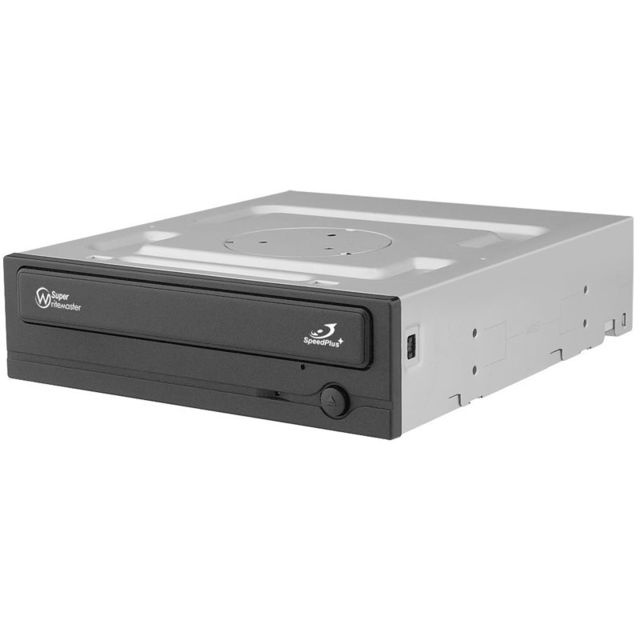 Samsung - Graveur DVD Interne 24X - SH-224DB - Super-WriteMaster - SATA - Bulk Noir