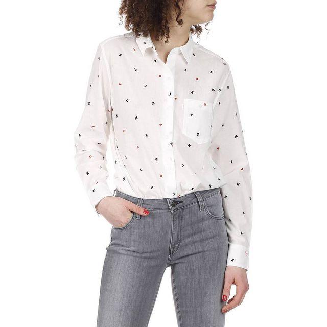 levi 39 s chemise ml sidney levis pas cher achat vente chemise femme rueducommerce. Black Bedroom Furniture Sets. Home Design Ideas