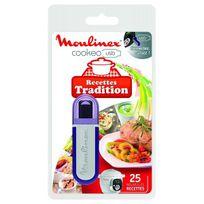 MOULINEX - Clé USB Recettes tradition pour Cookéo