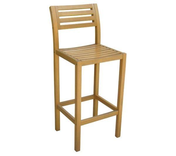 CARREFOUR - Chaise haute de jardin - Acacia - GD50603 - pas ...