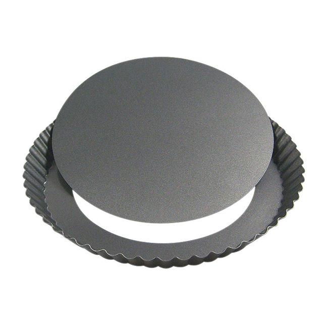 DE BUYER moule à tarte démontable 28cm - 4704.28