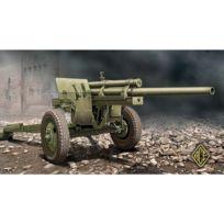 Ace Authentic - Maquette 1/72 : Canon antichars Us 3 pouces M-5 sur système de transport M-1