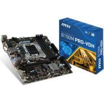 MSI - B150M PRO-VDH - Chipset B150 - Socket 1151