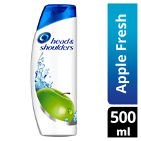 HEAD & SHOULDERS - Apple Fresh Shampooing Antipelliculaire - flacon de 500 ml