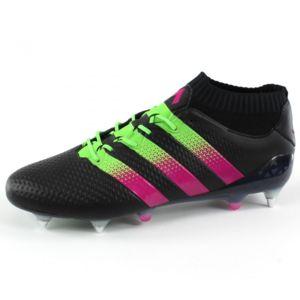 adidas Performance Ace 16.1 Primeknit FG/AG Vert - Chaussures Football Homme