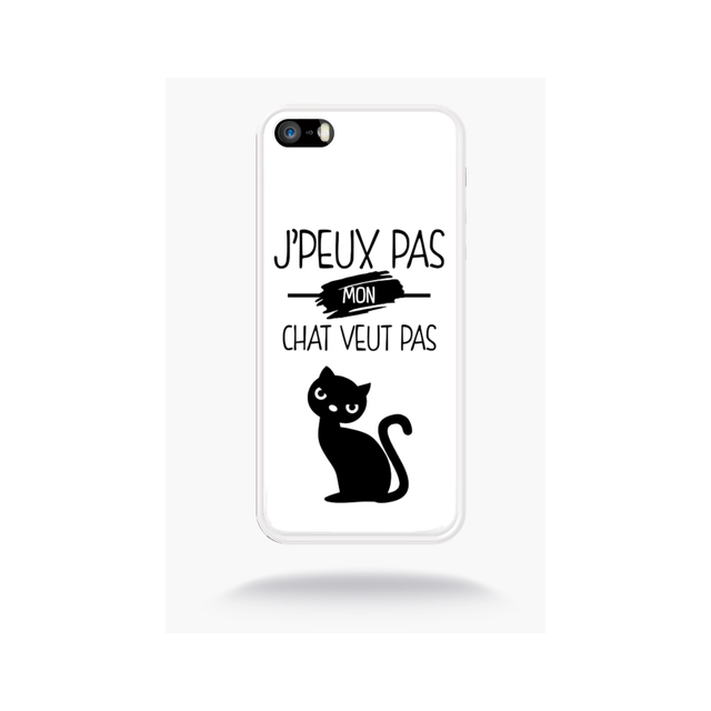 coque chat iphone 5