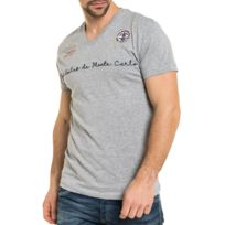 2ef516efa2da9 Kaporal 5 - Kaporal - Premium - T-shirt Lord homme col V rouge - pas ...