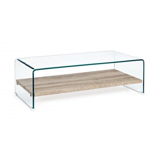 Table verre x en 35 DimL 55 rectangulaire bois cm 110 basse et H P x OkZiPlwXuT