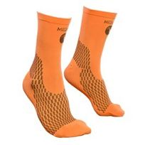 Medilast - Chaussettes de cyclisme Nrg noir et orange fluo