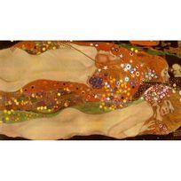 Ricordi Arte - Puzzle 1000 pièces Panoramique : Serpents d'eau Ii, Gustav Klimt