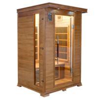 FRANCE SAUNA - LUXE 2 P Infrarouge Sauna
