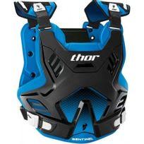 Marque Generique - Pare-pierre Moto Cross Sentinel Gp Protector Thor-xl / 2XL Noir Bleu-2701-0751