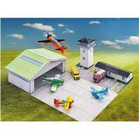 Aue Verlag - Maquette en carton : Aérodrome