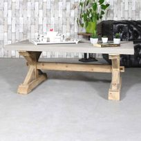 meuble effet beton achat meuble effet beton pas cher rue du commerce. Black Bedroom Furniture Sets. Home Design Ideas