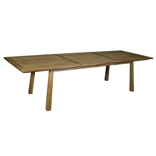 House Bay Table rectangulaire extensible en acacia Fsc Encara