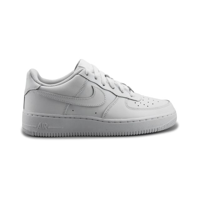 newest 9af5f 9e885 Nike - Baskets Air Force 1 Junior Blanc - pas cher Achat   Vente Baskets  enfant - RueDuCommerce