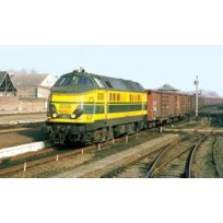 Roco - R62891 - ModÉLISME Ferroviaire - Locomotive Diesel SÉRIE 60 Sncb Ho - Jaune