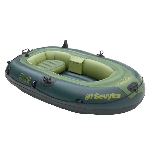sevylor bateau de p che gonflable fish hunter fh210 1 personne pas cher achat vente. Black Bedroom Furniture Sets. Home Design Ideas